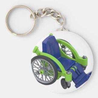 Wheelchair013110 Keychain