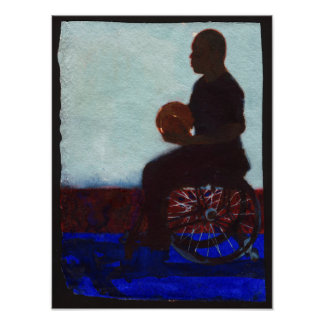 Wheelchair Basketball 2011 Poster