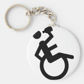 wheelchair boozer wheel chair keychain