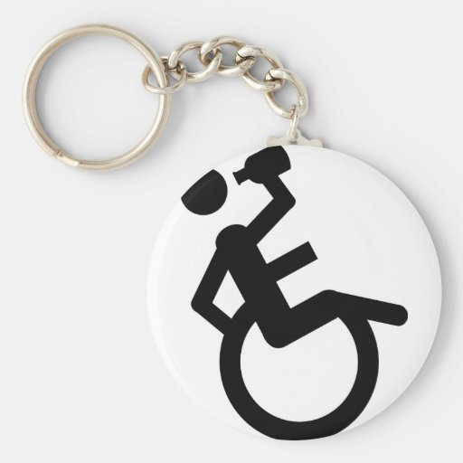 wheelchair boozer wheel chair keychains