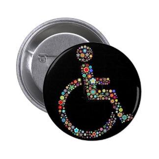 wheelchair_funky_zazzle.jpeg 2 inch round button