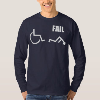 wheelchair handicapped fail pwned owned T-Shirt