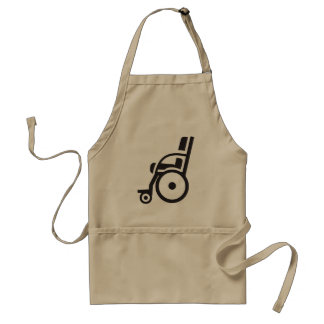 Wheelchair Icon Apron
