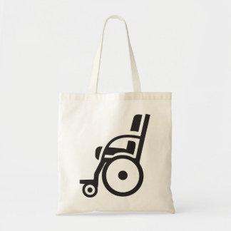 Wheelchair Icon Tote Bag