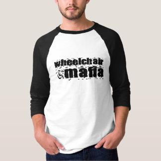 Wheelchair Mafia raglan T-Shirt