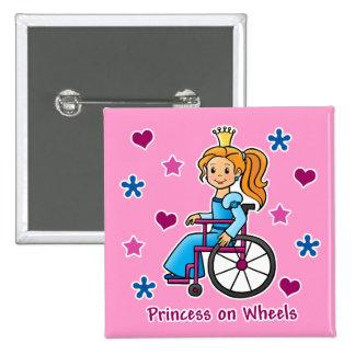 Wheelchair Princess Pins