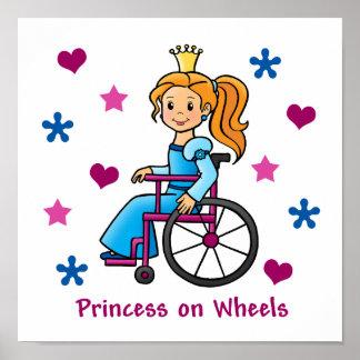 Wheelchair Princess Print