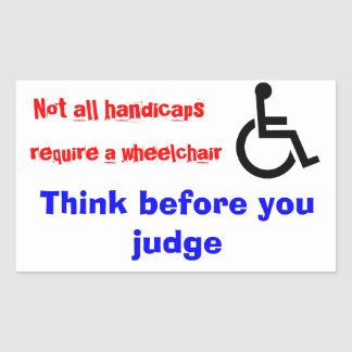 wheelchair stickers