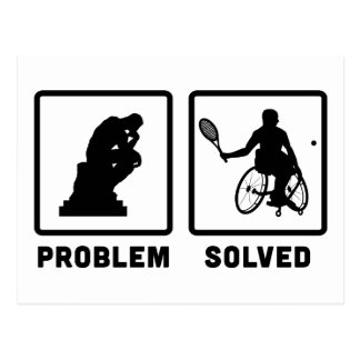 Wheelchair Tennis Postcard