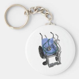 WheelchairStethoscope073110 Keychain
