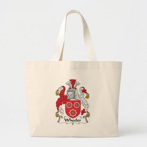 Wheeler Family Crest Canvas Bag