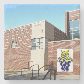 Wheeler High School, Marietta, Ga. Marble Stone Co Stone Coaster