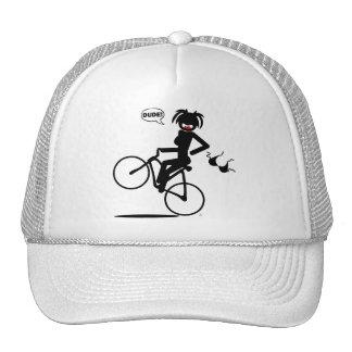 Wheelie hazard Shirts and Apparel Trucker Hat