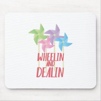 Wheelin And Deallin Mouse Pad