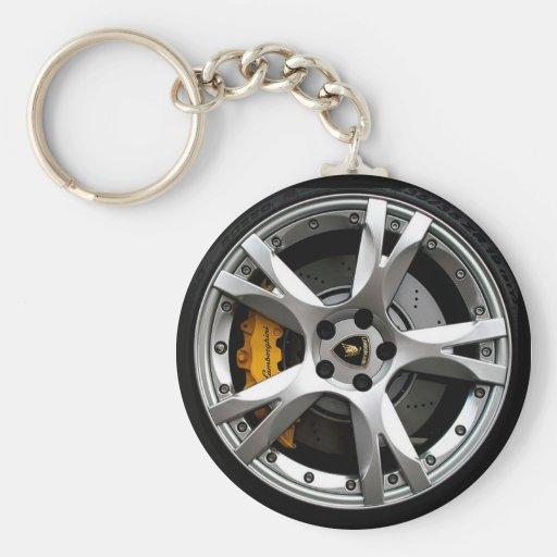 Wheelin Key Chains