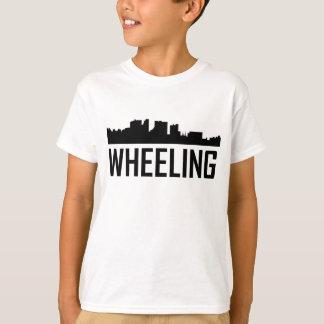 Wheeling West Virginia City Skyline T-Shirt