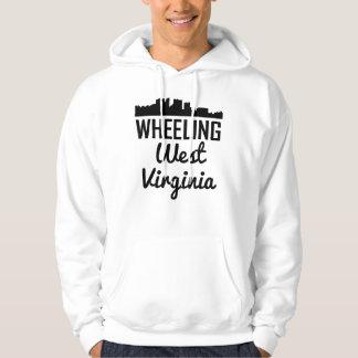 Wheeling West Virginia Skyline Hoodie