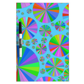Wheels Of Fortune Dry-Erase Whiteboards