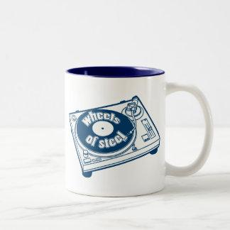 Wheels of Steel Two-Tone Coffee Mug