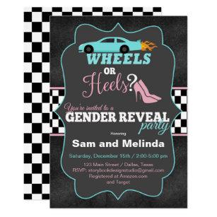image regarding Free Printable Gender Reveal Invitations named Gender Describe Invites Zazzle.ca
