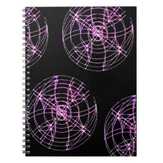 Wheels Spinning Notebook