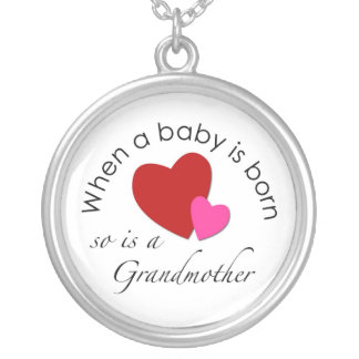 When a baby is born, so is a Grandmother Necklace