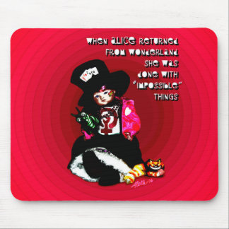 When Alice Returned by Aleta Mouse Pad