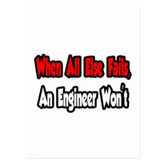 When All Else Fails, An Engineer Won't Postcard