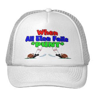When All Else Fails *PUNT* Mesh Hat