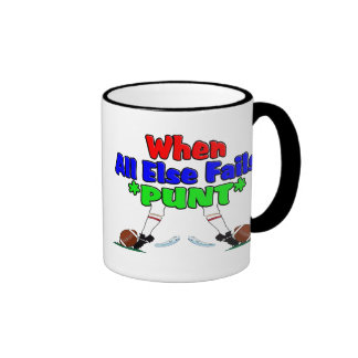 When All Else Fails *PUNT* Mugs