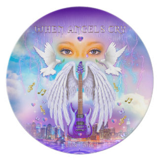 When Angels Cry Commemorative Plate