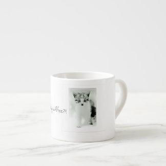 When are we having coffee Kitten Espresso Mug