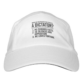 When do you realize you elected a Dictator - Hat