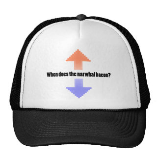 When Does the Narwhal Bacon Upvote Reddit Question Trucker Hat