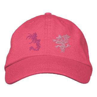 When Dragons Battle Baseball Cap
