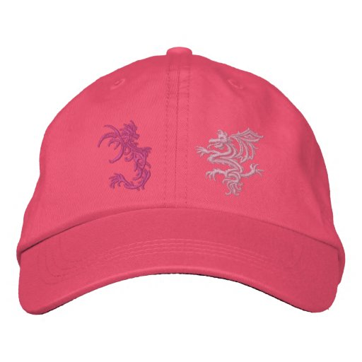 When Dragons Battle Baseball Cap
