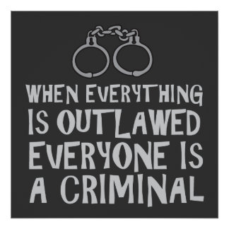 When Everything is Outlawed (with graphic) Poster