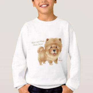 When God Made Chow Chows Sweatshirt