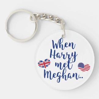 When Harry met Meghan | Fun Royal Wedding Keychain