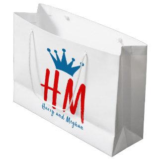 When Harry met Meghan Large Gift Bag