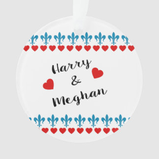When Harry met Meghan Ornament