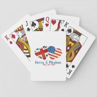 When Harry met Meghan Playing Cards