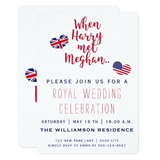 When Harry met Meghan | Royal Wedding Invitation