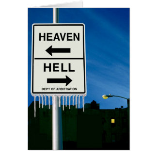 When Hell Freezes Over Card