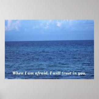 When I am afraid Poster
