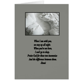 When I am with you Card