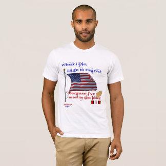 When I Die.. Afghanistan Afghan War Veteran Tshirt