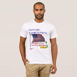 When I Die... Vietnam Veteran Tshirt