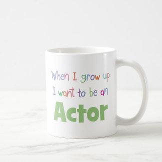 When I Grow Up Actor Coffee Mug
