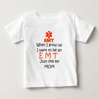 When I grow up EMT with graphic Baby T-Shirt
